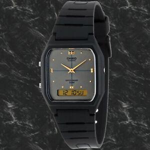 Casio AW-48HE-8AV Watch Grey Digital Analog 50M Water Resistant Classic New