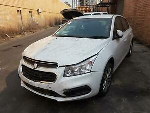 HOLDEN CRUZE TRANS/GEARBOX MANUAL, PETROL, 1.8, F18D4, 6 SPEED, JH, 01/15-01/17