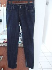 MISS 60 Women's  Skinny w/ zippers Blue Navy Jeans J Lot Pants NWOT 28/30 Italy
