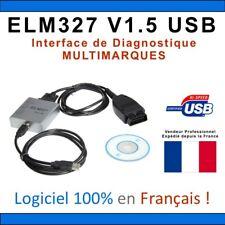 Valise Diagnostic Auto Français OBD2 ELM PRO similaire DIAGBOX RENOLINK