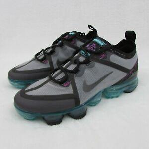 Nike Air Vapormax 2019 Gray Aurora Black Teal Blue Shoes Eur 38 5.5y AJ2616-012