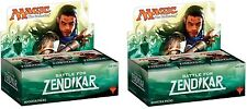 BATTLE FOR ZENDIKAR ~ Magic the Gathering Sealed 36 pack BOOSTER BOX  x 2