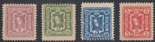 GERMANY, 1887. Bochum Private Post  Mi 11b-14b, Mint