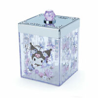 Sanrio KUROMI My Melody Cotton Box Cosmetic Storage Case New Japan Anime Girl