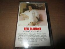 1982 NEIL DIAMOND 12 Greatest Hits Vol.ll Cassette Tape Columbia TCT 38068