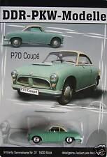 DDR-PKW-Modelle (Nr. 31) +++ IFA P 70 Coupé