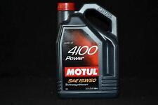 5 Liter MOTUL 4100 Power 15W-50 Motoröl Teilsynthetisch 15W50 Mercedes 229.1