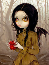 ART PRINT Autumn Is My Last Chance - Jasmine Becket-Griffith Gothic Poster 11x14