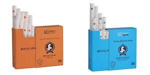 Royal Swag Ayurvedic Cigarette 20unit Pack Combo Frutta&Mint Flavour