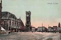 B106713 Belgium Ostende La Gare Train Station