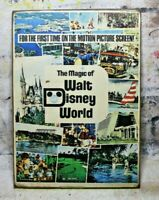 Magic of WALT DISNEY WORLD Handmade Disney World vintage sign