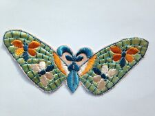 TURMAC Tobacco Cigarette Embroidery Silk BUTTERFLIES (large) A21