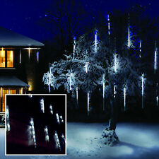 24 Chaser Icicle Lights with 72 Ice White LED Christmas Lights Indoor & Outdoor