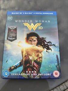 Wonder Woman (Blu-ray 3D, 2017)