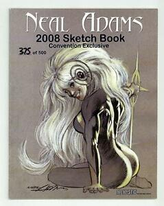 Neal Adams 2008 Sketch Book SC Convention Exclusive #1-1ST FN 6.0