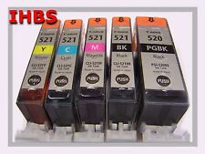 5 orig. Canon-Patronen, IP3600, IP4600, IP 4700, MP 540