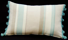 Linen Blend Striped Decorative Cushions