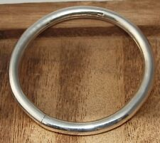 Schlichter runder Armreif echt silber 925 Sterlingsilber 15 g