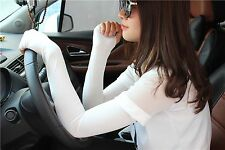Sale Colors Candy Cotton 20 Newfangled Women Nice Fingerless Arm Gloves Long
