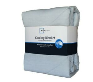 Mainstays Cool-Touch Cooling Blanket, Full/Queen