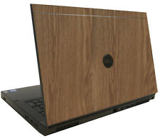 WOOD Vinyl Lid Skin Cover Decal fits Dell Precision M6600 Laptop