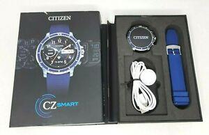 Citizen CZ Smart Stainless Steel Smartwatch Touchscreen MX0001-12X