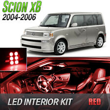 2004-2006 Scion xB Red LED Lights Interior Kit