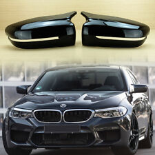 Gloss Black Side Mirror Cover For BMW G30 G31 G38 G11 G12 M Performance 2017+