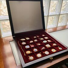(25) The Worlds Greatest Porcelain Houses Pendant Set in original Box
