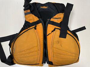 Stohlquist Trekker Men's Life Jacket PFD Yellow/Black