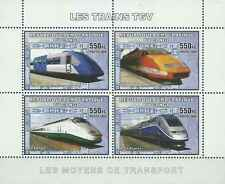 Timbres Trains Congo RD ** année 2006 lot 19650