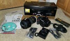 Nikon D D5100 w/ 18-55mm lens and 55-200mm lens Kit Mint In Box Plus Tamrac Bag