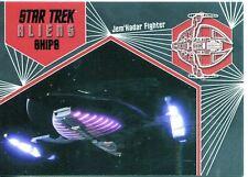 Star Trek Aliens Chase Alien Ships S09 Jem'Hadar Fighter