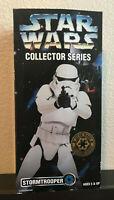 "Star Wars Collector Series StormTrooper 12"" Figurine Galatic Empire 1996 NIB"