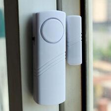 Wireless Magnetic Sensor Door Window Entry Safety Security Burglar Alarm Bell 3C