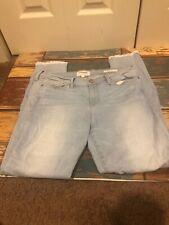Sale Frame Denim Le Skinny De Jeanne Crop Denim Pants Jeans Sz 32 Light Wash