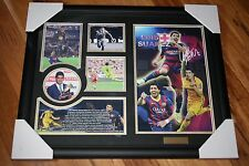 ON SPECIAL!  LUIS SUAREZ Memorabilia Signed, Framed & LIMITED EDITION 499 w/ COA