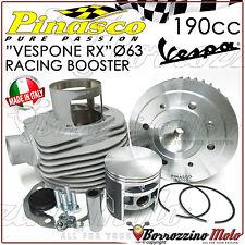 """GRUPPO TERMICO PINASCO """"VESPONE RX"""" CILINDRO RACING BOOSTER 190cc VESPA PX 125"""
