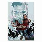 Into the badlands Poster TV Series Art Fabric Print Wall Picture Home Decor
