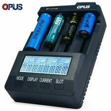 Opus BTC3100 V2.2 Battery Charger Analyzer Tester Li-ion AA AAA NiMH 18650 EU PL