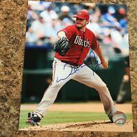 Wade Miley Signed 8x10 Photo Autograph Arizona Diamondbacks Red Sox Brewers
