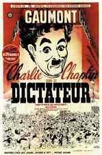 Cine Gran Dictador el 03 A2 Caja Lona Impresión