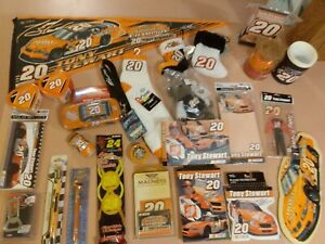 HUGE TONY STEWART LOT  TONS OF FUN ITEMS TO ADD TO YOUR COLLECTION