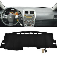 Xukey Fit For 09-13 Toyota Corolla Dashboard Cover Dashmat Dash Mat Pad