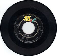"""TAB HUNTER Dot Records """"Red Sails In The Sunset"""" & """"Young Love"""" 45 RPM VG"""