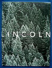 Prospekt brochure 2002 Lincoln Navigator (USA)