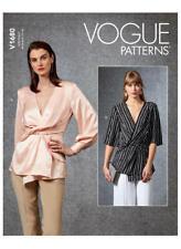 Vogue V1680 PATTERN - Misses Top - Size 6-22 -BN