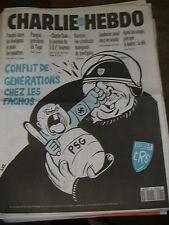 Charlie HebdoN°62  1/9/93 Caricature Reiser Cavanna Wolinsky Cabu HOOLIGANS PSG