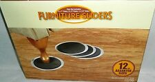 FURNITURE SLIDERS  12 Pcs Assorted sizes  Move Your Furniture With Ease