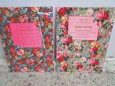 Gift Wrap by Artists Large Books Roses French Flowers 2 books 12 patterns